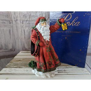 Pipka where's Rudolph Santa 13915 10″ xmas figurin